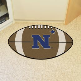 United States Naval Academy Ball Shaped Area rugs (Ball Shaped Area Rugs: Football)