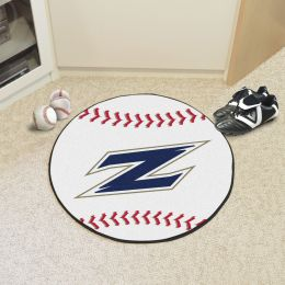 University of Akron Ball Shaped Area Rugs (Ball Shaped Area Rugs: Baseball)