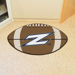 University of Akron Ball Shaped Area Rugs (Ball Shaped Area Rugs: Football)