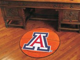 University of Arizona Ball Shaped Area Rugs (Ball Shaped Area Rugs: Basketball)