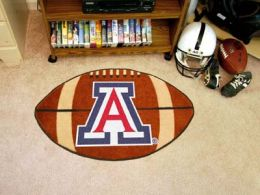 University of Arizona Ball Shaped Area Rugs (Ball Shaped Area Rugs: Football)