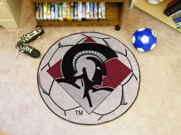 University of Arkansas Little Rock Ball Shaped Area Rugs (Ball Shaped Area Rugs: Soccer Ball)