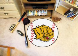 University of Arkansas at Pine Bluff Ball Shaped Area Rugs (Ball Shaped Area Rugs: Baseball)