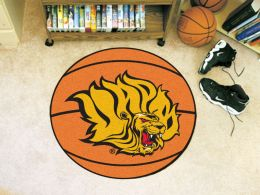 University of Arkansas at Pine Bluff Ball Shaped Area Rugs (Ball Shaped Area Rugs: Basketball)