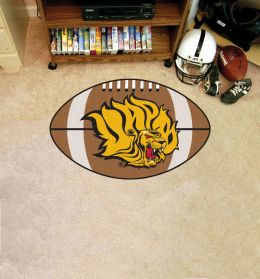 University of Arkansas at Pine Bluff Ball Shaped Area Rugs (Ball Shaped Area Rugs: Football)