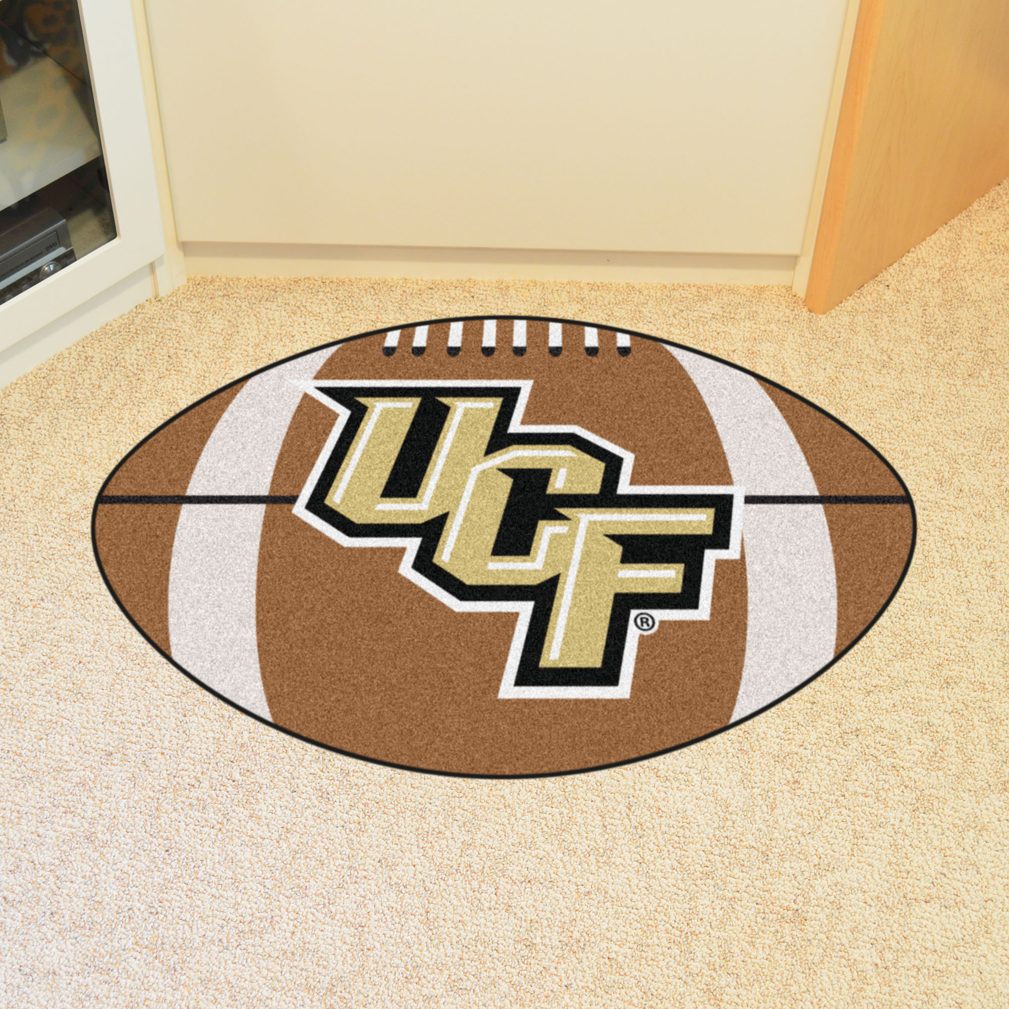 University Of Central Florida Ball Shaped Area Rugs