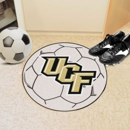 University of Central Florida Ball Shaped Area Rugs (Ball Shaped Area Rugs: Soccer Ball)