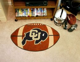 University of Colorado Ball Shaped Area Rugs (Ball Shaped Area Rugs: Football)