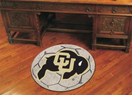 University of Colorado Ball Shaped Area Rugs (Ball Shaped Area Rugs: Soccer Ball)