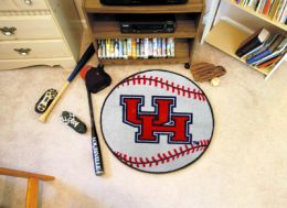 University of Houston Ball Shaped Area Rugs (Ball Shaped Area Rugs: Baseball)