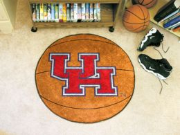 University of Houston Ball Shaped Area Rugs (Ball Shaped Area Rugs: Basketball)