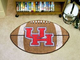 University of Houston Ball Shaped Area Rugs (Ball Shaped Area Rugs: Football)