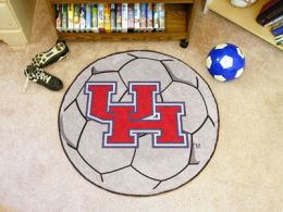 University of Houston Ball Shaped Area Rugs (Ball Shaped Area Rugs: Soccer Ball)