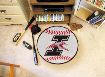 University of Indianapolis Ball Shaped Area Rugs (Ball Shaped Area Rugs: Baseball)