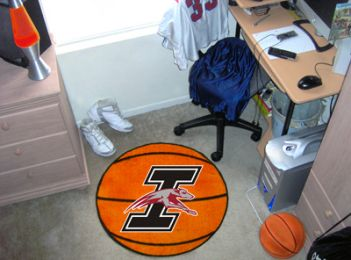 University of Indianapolis Ball Shaped Area Rugs (Ball Shaped Area Rugs: Basketball)