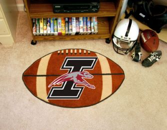 University of Indianapolis Ball Shaped Area Rugs (Ball Shaped Area Rugs: Football)