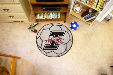 University of Indianapolis Ball Shaped Area Rugs (Ball Shaped Area Rugs: Soccer Ball)