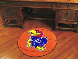 University of Kansas Ball Shaped Area Rugs (Ball Shaped Area Rugs: Basketball)