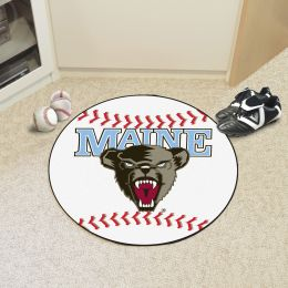 University of Maine Ball Shaped Area Rugs (Ball Shaped Area Rugs: Baseball)