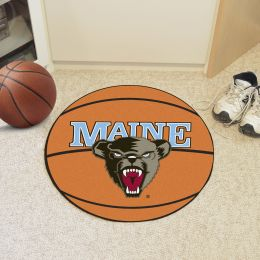 University of Maine Ball Shaped Area Rugs (Ball Shaped Area Rugs: Basketball)
