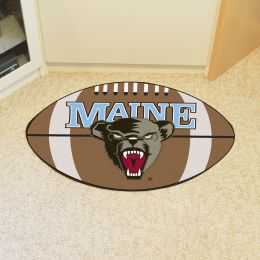 University of Maine Ball Shaped Area Rugs (Ball Shaped Area Rugs: Football)