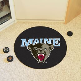 University of Maine Ball Shaped Area Rugs (Ball Shaped Area Rugs: Hockey Puck)