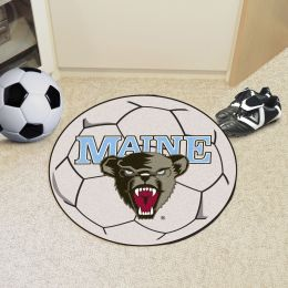 University of Maine Ball Shaped Area Rugs (Ball Shaped Area Rugs: Soccer Ball)