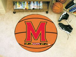 University of Maryland Ball Shaped Area Rugs (Ball Shaped Area Rugs: Basketball)