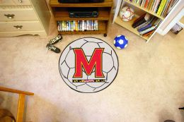University of Maryland Ball Shaped Area Rugs (Ball Shaped Area Rugs: Soccer Ball)
