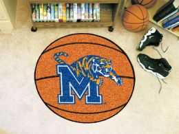 University of Memphis Ball Shaped Area Rugs (Ball Shaped Area Rugs: Basketball)