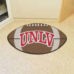 University of Nevada Las Vegas Ball Shaped Area rugs (Ball Shaped Area Rugs: Football)