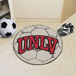 University of Nevada Las Vegas Ball Shaped Area rugs (Ball Shaped Area Rugs: Soccer Ball)