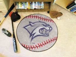 University of New Hampshire Ball Shaped Area Rugs (Ball Shaped Area Rugs: Baseball)