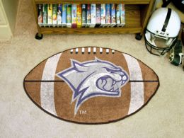 University of New Hampshire Ball Shaped Area Rugs (Ball Shaped Area Rugs: Football)
