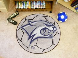 University of New Hampshire Ball Shaped Area Rugs (Ball Shaped Area Rugs: Soccer Ball)