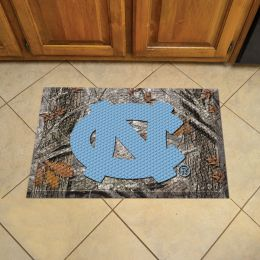 "North Carolina Scrapper Doormat - 19"" x 30"" Rubber (Camo or Field Design: Camo & Logo)"