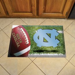 "North Carolina Scrapper Doormat - 19"" x 30"" Rubber (Camo or Field Design: Football Field)"