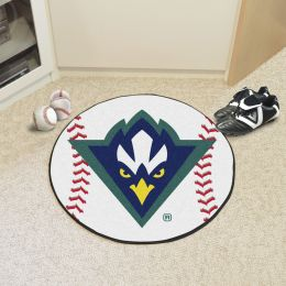 University of North Carolina at Wilmington Ball Shaped Area UNCWgs (Ball Shaped Area Rugs: Baseball)