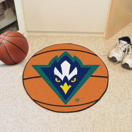 University of North Carolina at Wilmington Ball Shaped Area UNCWgs (Ball Shaped Area Rugs: Basketball)