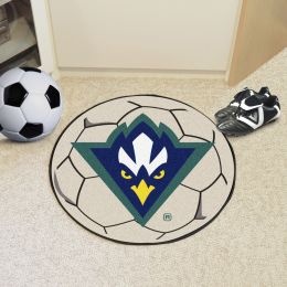 University of North Carolina at Wilmington Ball Shaped Area UNCWgs (Ball Shaped Area Rugs: Soccer Ball)