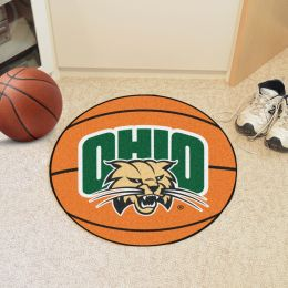 University of Ohio Ball Shaped Area OUgs (Ball Shaped Area Rugs: Basketball)