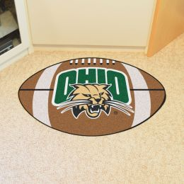 University of Ohio Ball Shaped Area Rugs (Ball Shaped Area Rugs: Football)