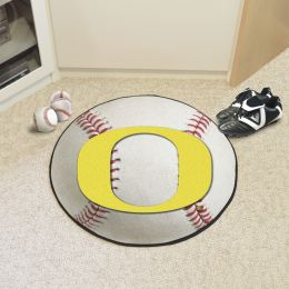 University of Oregon Ball Shaped Area Rugs (Ball Shaped Area Rugs: Baseball)
