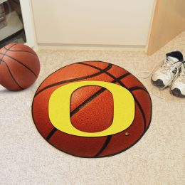 University of Oregon Ball Shaped Area Rugs (Ball Shaped Area Rugs: Basketball)