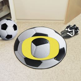 University of Oregon Ball Shaped Area Rugs (Ball Shaped Area Rugs: Soccer Ball)