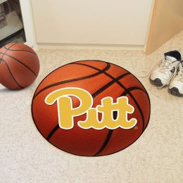 University of Pittsburgh Ball Shaped Area Rugs (Ball Shaped Area Rugs: Basketball)