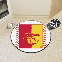 Pitt State University Ball Shaped Area rugs (Ball Shaped Area Rugs: Baseball)