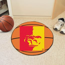 Pitt State University Ball Shaped Area rugs (Ball Shaped Area Rugs: Basketball)
