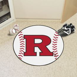 Rutgers University Ball Shaped Area rugs (Ball Shaped Area Rugs: Baseball)