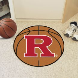 Rutgers University Ball Shaped Area rugs (Ball Shaped Area Rugs: Basketball)